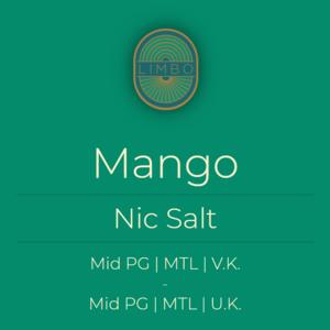 Aisu (Salt) Mango 50PG/50VG