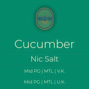 Aisu (Salt) Cucumber 50PG/50VG