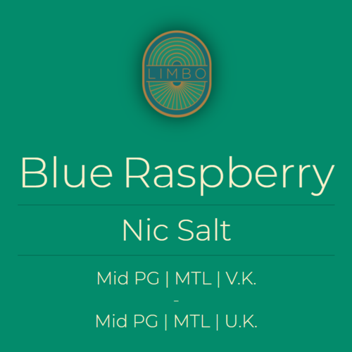 Aisu (Salt) Blue Raspberry 50PG/50VG