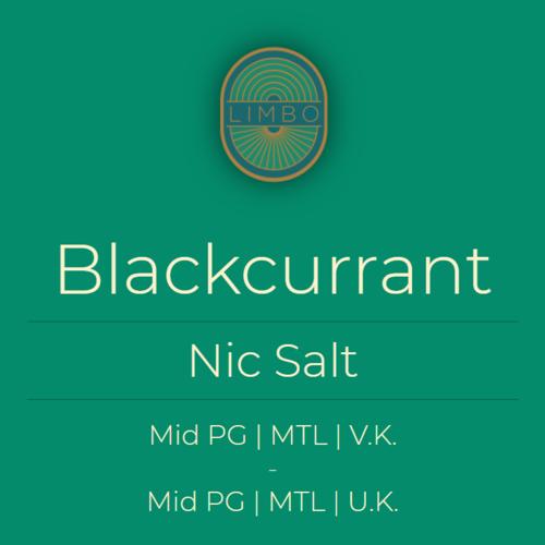 Aisu (Salt) Blackcurrant 50PG/50VG