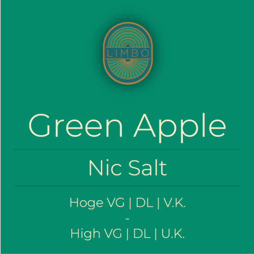 Aisu (Salt) Green Apple 30PG/70VG
