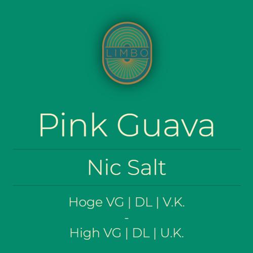 Aisu (Salt) Pink Guava 30PG/70VG