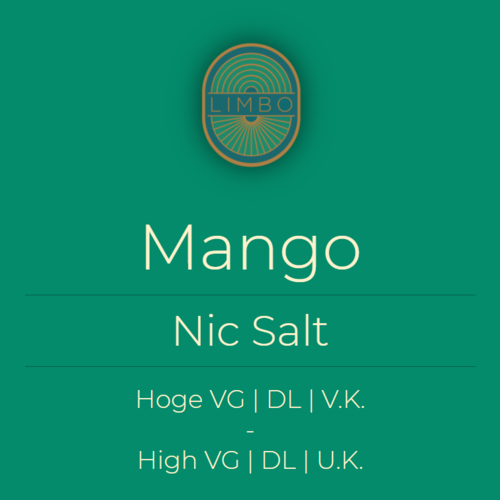 Aisu (Salt) Mango 30PG/70VG
