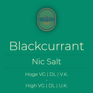 Aisu (Salt) Blackcurrant 30PG/70VG
