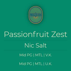 Zap Passionfruit Zest (Nic Salt)