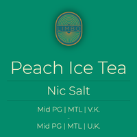 Peach Ice Tea (Nic Salt)