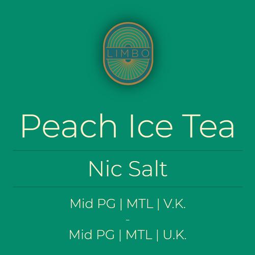 Zap Peach Ice Tea (Nic Salt)