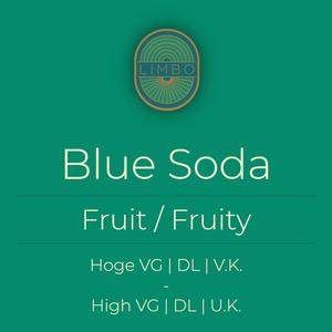 Zap Blue Soda