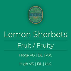 Dinner-Lady Lemon Sherbets