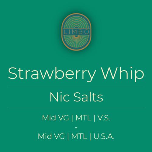 Element Salts Strawberry Whip (Nic. Salt)