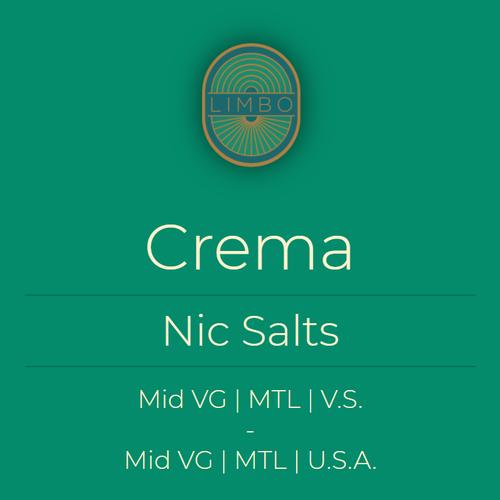 Element Salts Crema (Nic. Salt)
