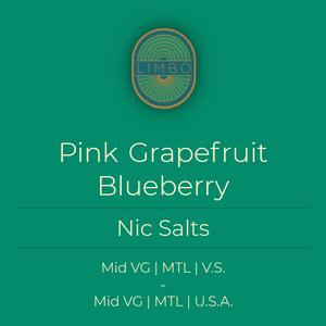 Element Salts Pink Grapefruit + Blueberry Salt