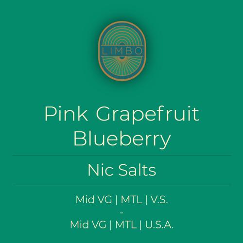 Element Salts Pink Grapefruit + Blueberry (Nic. Salt)