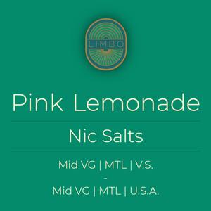 Element Salts Pink Lemonade (Nic. Salt)