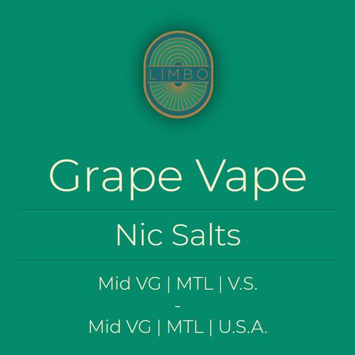 Element Salts Grape Vape (Nic. Salt)