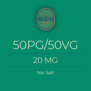 Liquideo 50PG/50VG Nic Salt Booster 20mg