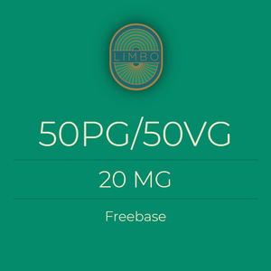 Liquideo 50PG/50VG Standaard Nicotine Booster 20mg
