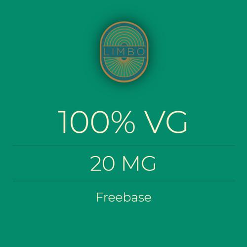 Liquideo 100%VG Standaard Nicotine Booster 20mg