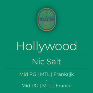 Liquideo Nic Salts Fifty Hollywood
