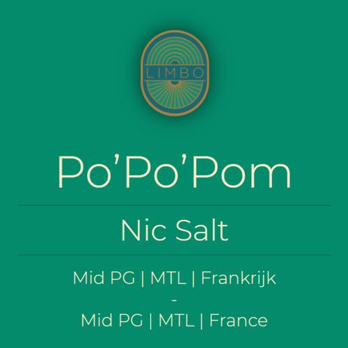 Liquideo Nic Salts Fifty Po'Po'Pom