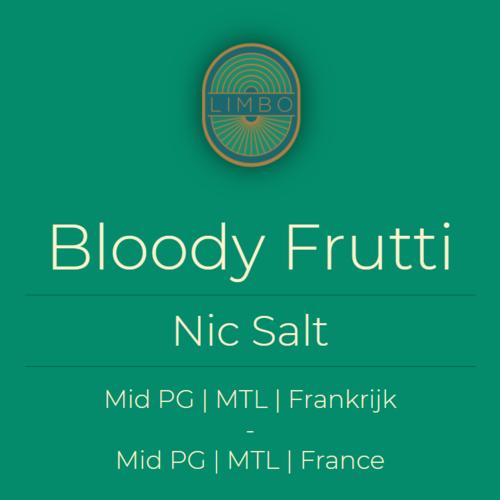 Liquideo Nic Salts Fifty Bloody Frutti