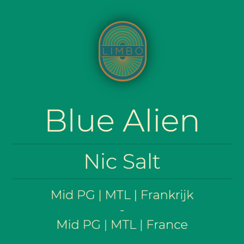 Liquideo Nic Salts Fifty Blue Alien