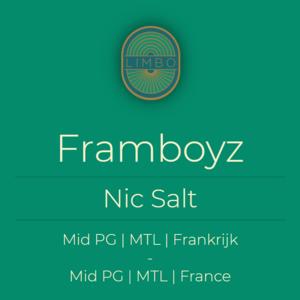 Liquideo Nic Salts Fifty Framboyz