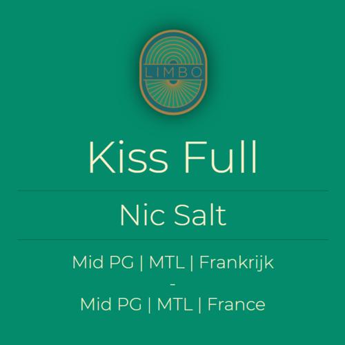 Liquideo Nic Salts Fifty Kiss Full