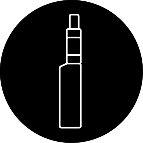 Pen style   Small e-cigarettes with exchangeable coils