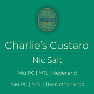 Charlie Noble Salts Charlie's Custard Salt