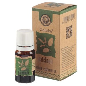 Goloka Natuurlijke Etherische Olie Patchouli