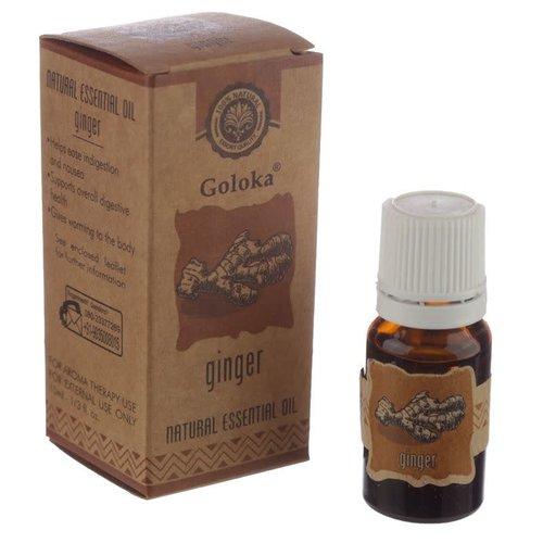 Goloka Natuurlijke Etherische Olie Gember