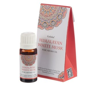 Goloka Geurolie Himalaya Witte Musk (10 ml.)