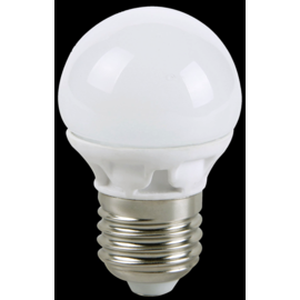 Led Bolvorm - grote fitting - niet dimbaar - warm wit - 25 -> 3 watt