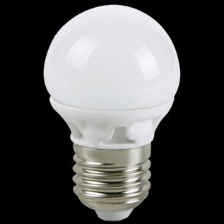 Led Bolvorm - grote fitting - niet dimbaar - warm wit - 40 -> 4,5 watt