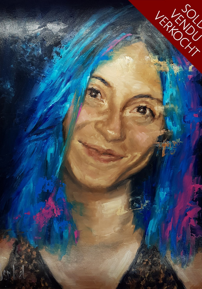Youtube Oil Painting Francesca made by Isabel