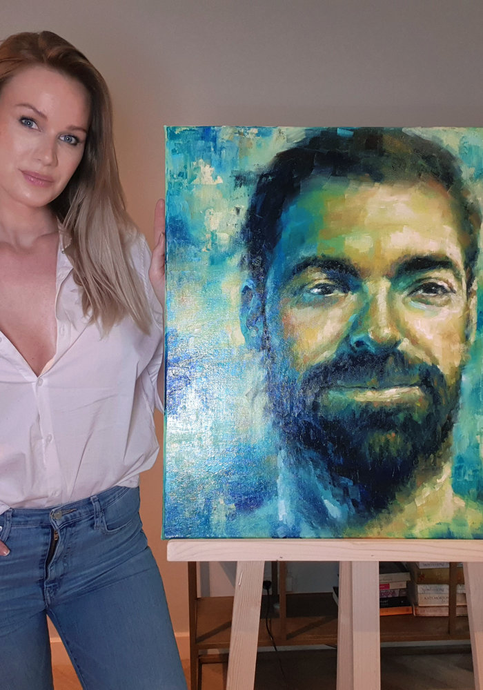 Youtube Oil Painting Jos made by Isabel