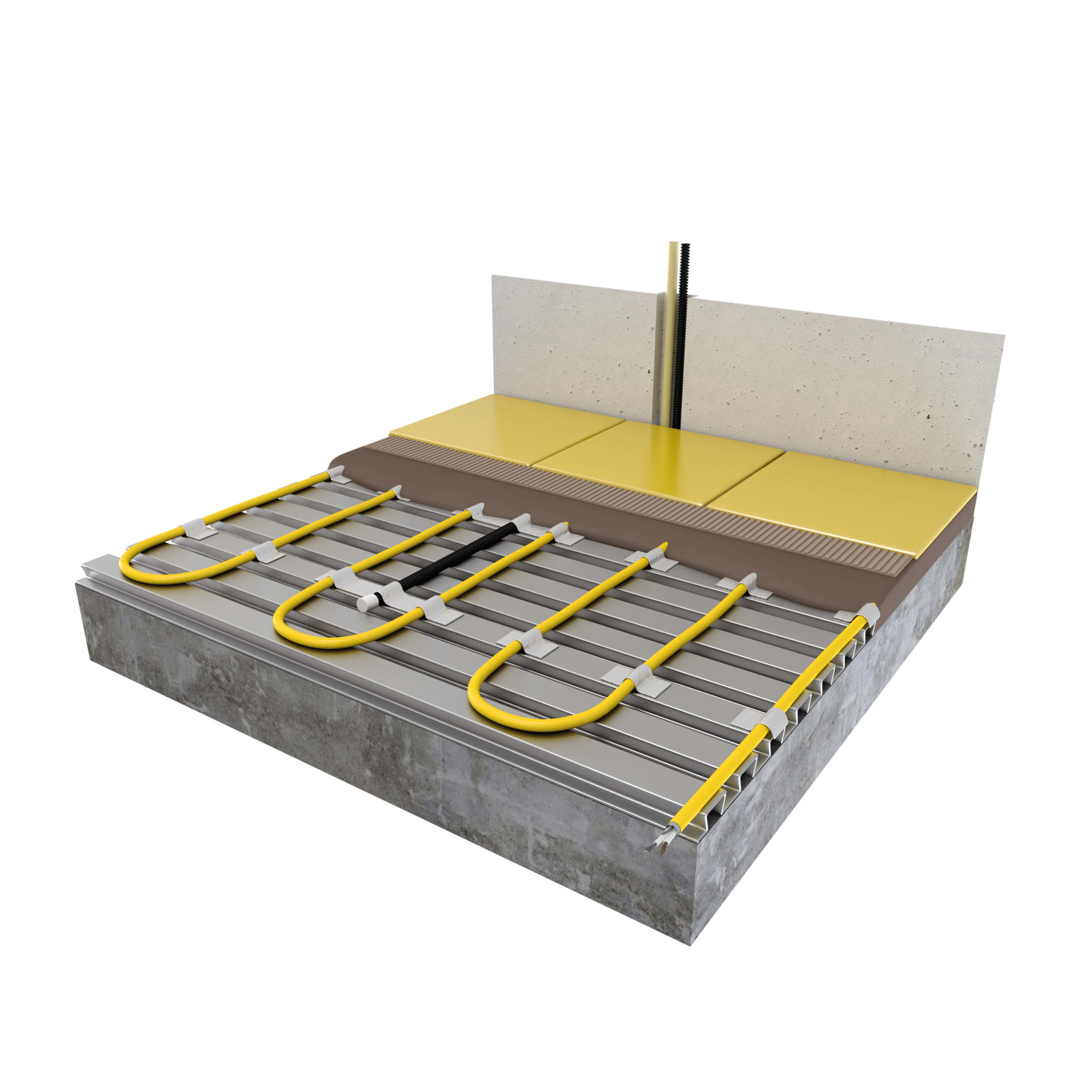 Dekvloer-kabel  elektrisch