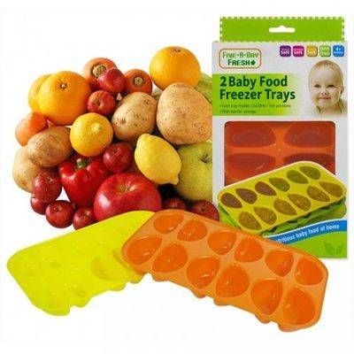 Baby Food Freezer Trays with Lids