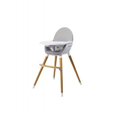 Babylo Q 2 in 1 Highchair Slate Grey