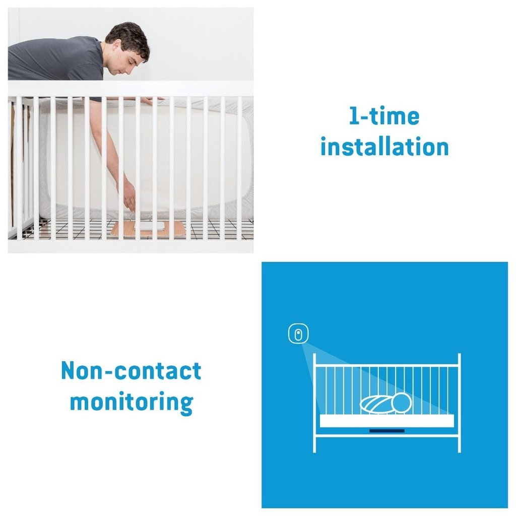 Angel Care ANGELCARE Baby Movement MONITOR WITH VIDEO AC327