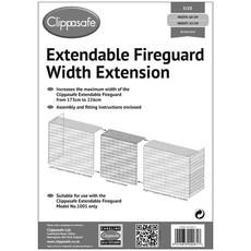Clippasafe Clippasafe Extendable Fireguard width Ex