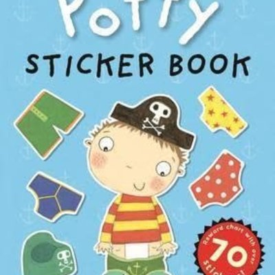 Pirate Petes Potty Sticker Activity Book