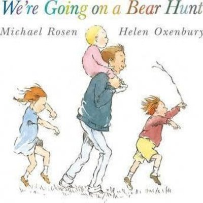 We're going on a bear hunt (paperback)