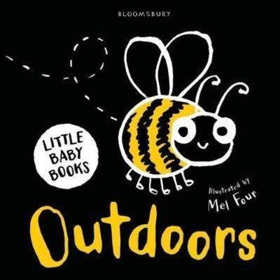 Little Baby Books: Outdoors Black/White