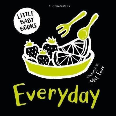Little Baby Book: Everyday Black/White
