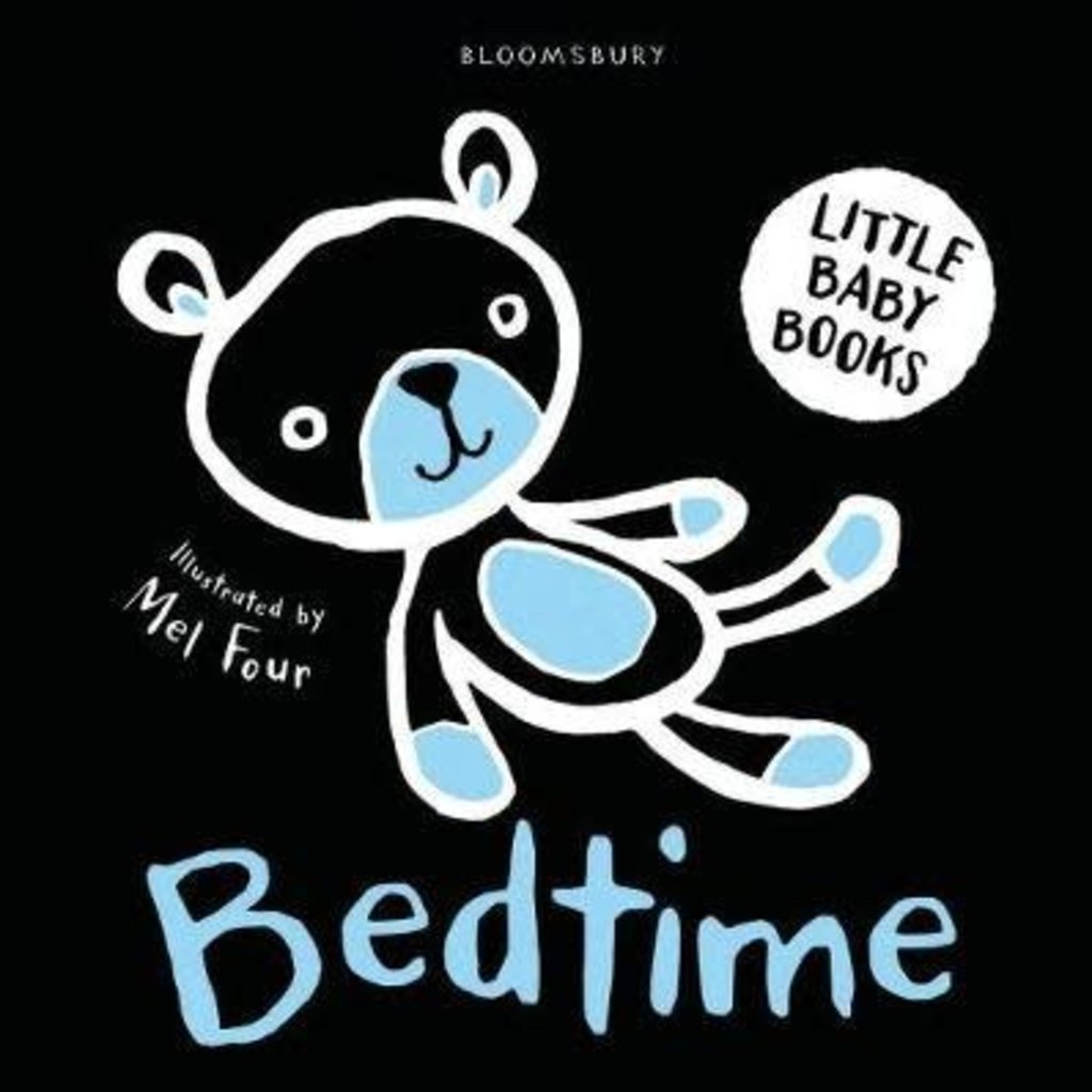 Little Baby Books Bedtime: Black/White