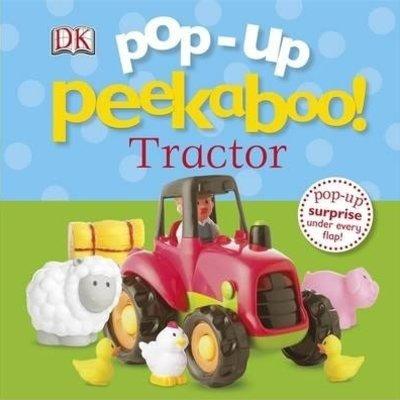 Pop up Peekaboo Tractor