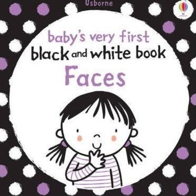 Usborne Baby's First Black and White Book Faces