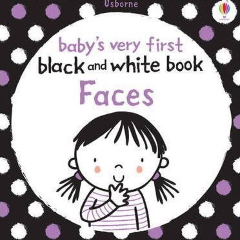 Usborne Baby's Very First Black and White Book Faces